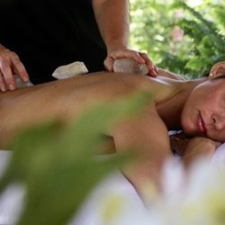 crystal massage