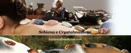 Crystal Massage e mal di schiena : chi l'avrebbe mai detto?