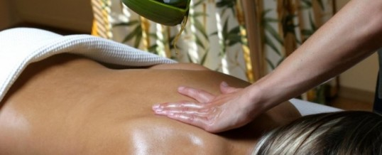 Come fare l'olio per massaggio : quale base scegliere?